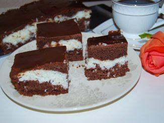 Prajitura-cu-cocos-blat-de-cacao-si-glazura-1