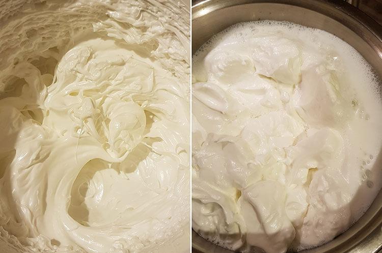Lapte de pasare reteta clasica