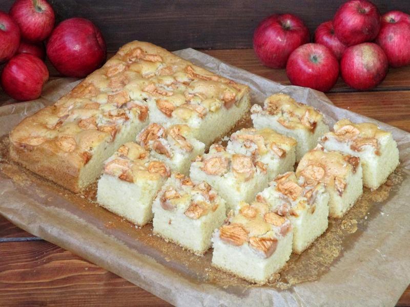 Prajitura lenesa cu mere