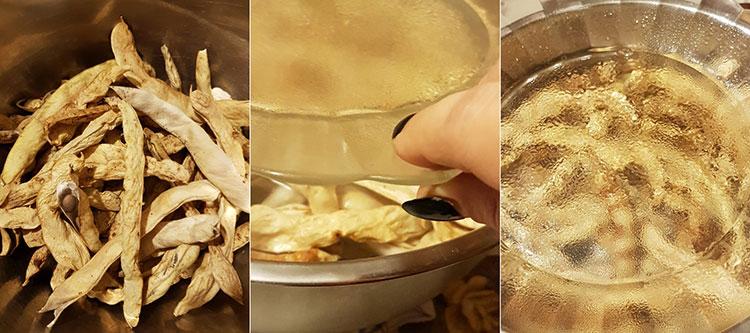 Zamă de fasole grasă cu afumatură