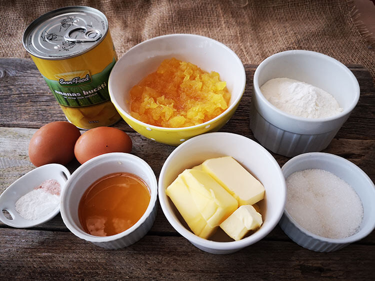 ingrediente- madlene