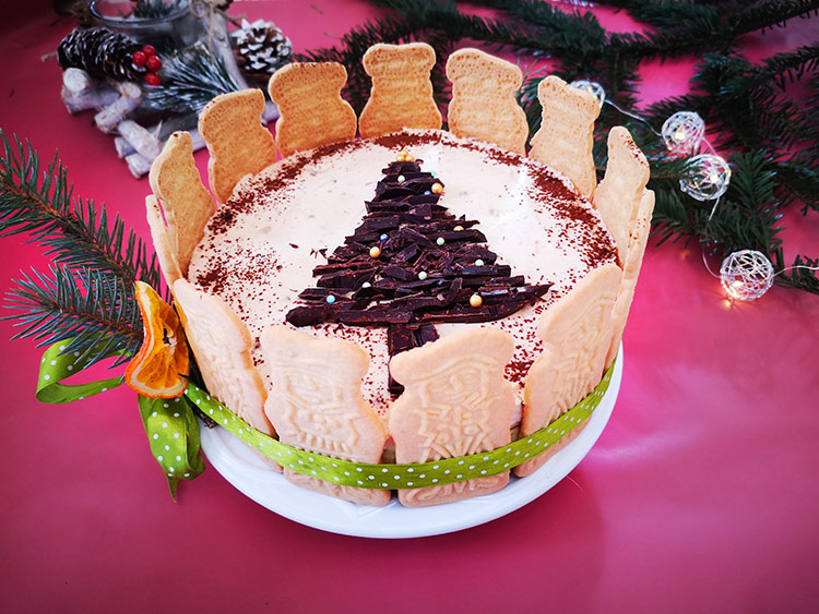 Cheesecake cu mascarpone si biscuiti spekulatius