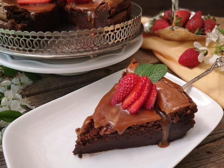 Cheesecake cu mascarpone si ciocolata