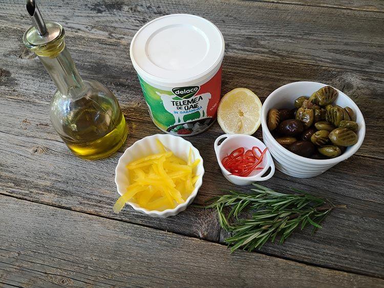 ingrediente telemea la cuptor