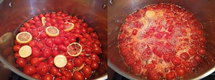 preparare dulceata rosii