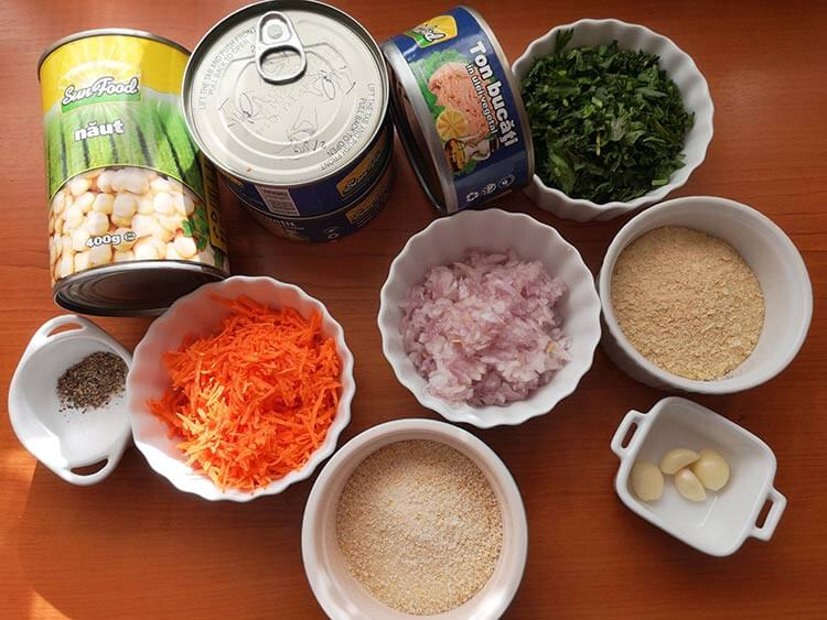 ingrediente chiftele