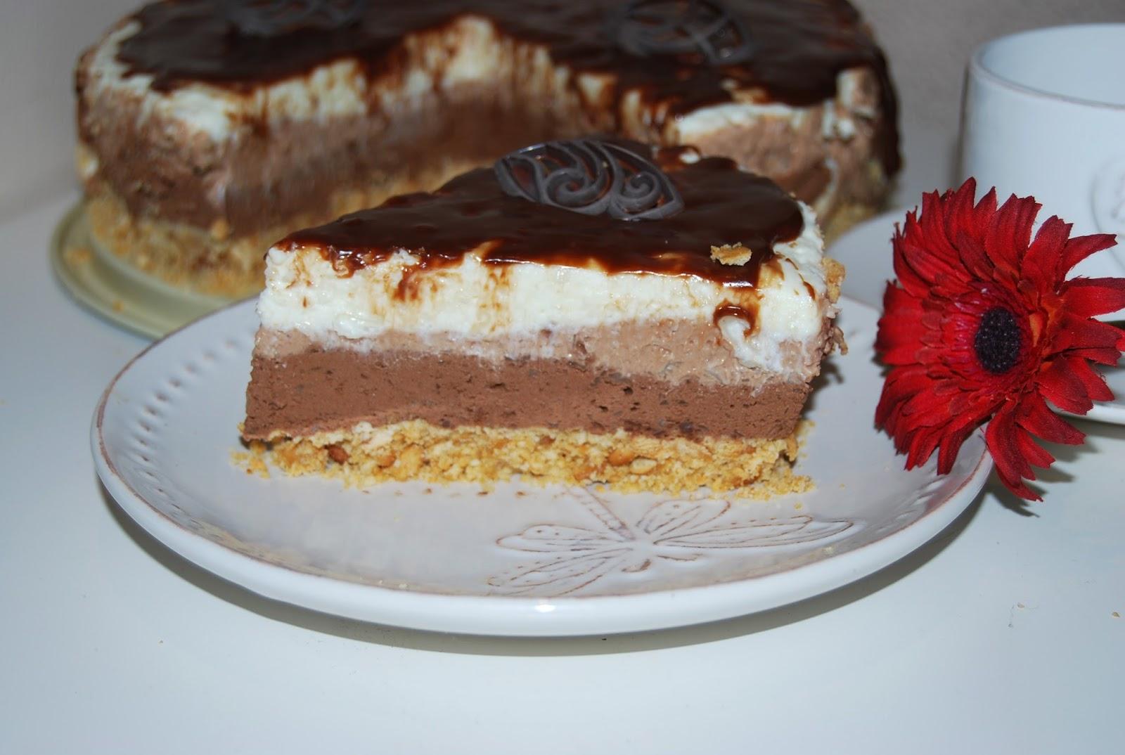 Tort ciocolatos fara coacere