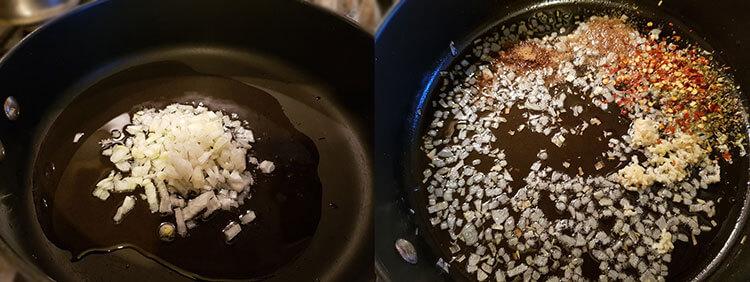 Salata picanta de orez cu fasole
