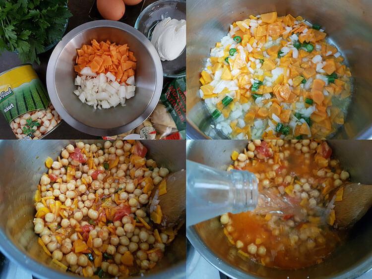 preparare supa