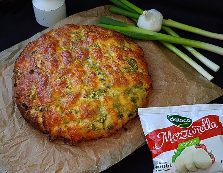 Focaccia cu Mozzarella