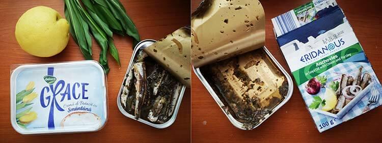 ingrediente pasta de branza