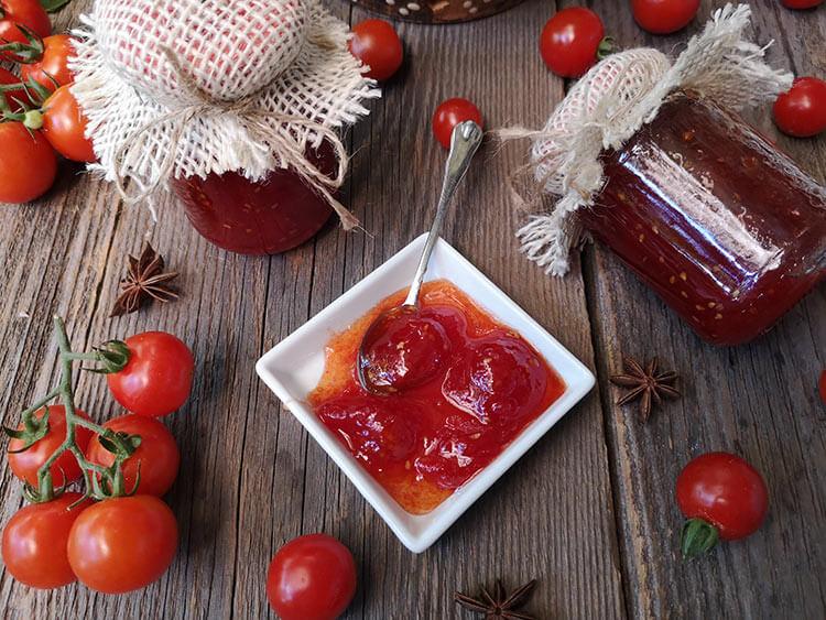 dulceata de rosii cherry