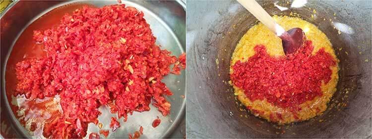preparare zacusca legume